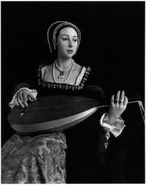 Hiroshi Sugimoto, Anne Boleyn, from �Portraits�, commissioned work for the Deutsche Guggenheim, 1999