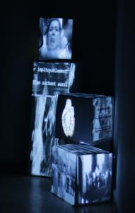 Sofiane Zouggar, Time machine, Installation video, Box24, Algier, 2012. © Sofiane Zouggar