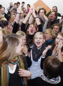 The winners of the Deutsche Bank Foundation Youth Art Prize: pupils of the Mariengymnasium in Essen
