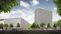 Rendering: Deutsche Bank office building, Berlin