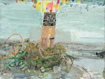 Lisa Sanditz, Tower of Babble, 2009. Courtesy of CRG Gallery