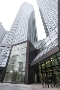 View of the Deutsche Bank Towers, Frankfurt am Main. @ Deutsche Bank