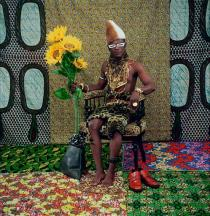 Samuel Fosso, The Chief (the one who sold Africa to the colonists), 1997, Deutsche Bank Collection. Courtesy Galerie Jean Marc Patras, Paris
