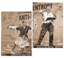 William Kentridge, Drawing for the Refusal of Time: Anti-Entropy -, 2011.