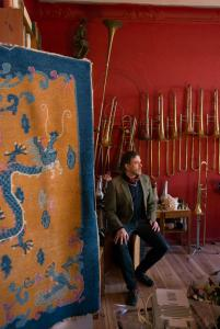 The collector of sound: Jan-Peter E.R. Sonntag in his studio. Photo Michael Danner
