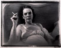 Marilyn Minter, Mom Smoking, 1969-1995.From Corel Ridge Towers, 1969-1995. © Courtesy of Andréhn-Schiptjenko