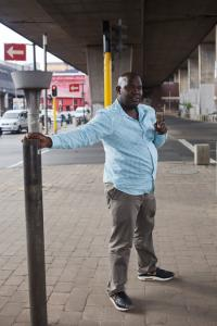 Moshekwa Langa in Newton, Johannesburg