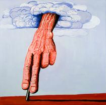 Philip Guston, The Line, 1978. Private collection © The Estate of Philip Guston