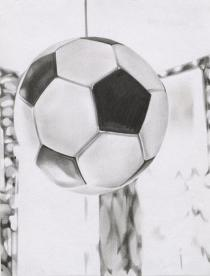 Marc Brandenburg, Untitled (Fu�ball), 1994. Deutsche Bank Collection. � Marc Brandenburg