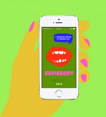 Miranda July, Somebody™, mobile app, 2014. somebodyapp.com.