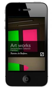 Deutsche Bank's Art works App