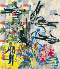 Sigmar Polke, Untitled (Drehung), 1979.  The Estate of Sigmar Polke, Cologne / VG Bild-Kunst, Bonn 2012. Deutsche Bank Collection at the St�del Museum