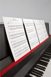 Ari Benjamin Meyers, Songbook (ES 13), 2013, Printed score on paper, music stands, Overall variable, (AM002). Courtesy Esther Schipper, Berlin. Photo: © Andrea Rossetti