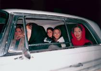 Shirin Aliabadi, Girls in Car 2, 2005. � Courtesy of the artist and The Third Line