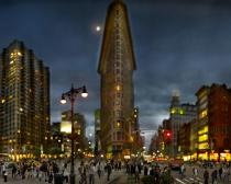 Jeff Chien-Hsing Liao, Flatiron Building, Manhattan, 2011. © Jeff Chien-Hsing Liao Courtesy Museum of the City of New York