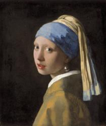 Johannes Vermeer, Girl with a Pearl Earring, c. 1665. Mauritshuis, The Hague