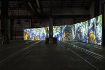 Semiconductor, Earthworks, 2016. Installation view (2018) at Carriageworks for the 21st Biennale of Sydney. Courtesy the artists. Photograph: Zan Wimberley