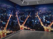 Dayanita Singh, Wall Paper Installation (Dream Villa 11), 2009. Deutsche Bank Collection