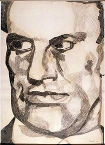 Eugen Sch�nebeck, Majakowski, 1966. Deutsche Bank Collection. � VG Bild-Kunst, Bonn 2010.