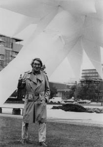 "Otto Piene, Berlin Superstar, 1984, for: ""Hommage an Paul Scheerbart"", Ernst-Reuter-Platz, Berlin, 1984. Photo: Otto Piene Archiv/ ZERO foundation."