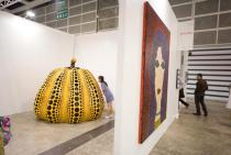 ART HK 10. Ota Fine Arts. Yayoi Kusama. Pumpkin, 2010. Courtesy ART HK