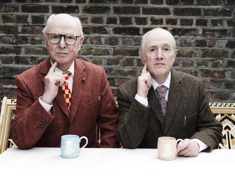 Gilbert & George, 2015. Photo: Tom Oldham