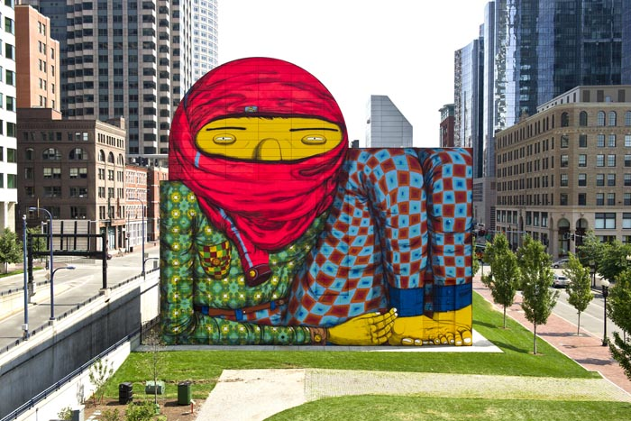 Deutsche bank artmag 71 feature an interview with for Dewey square mural 2016