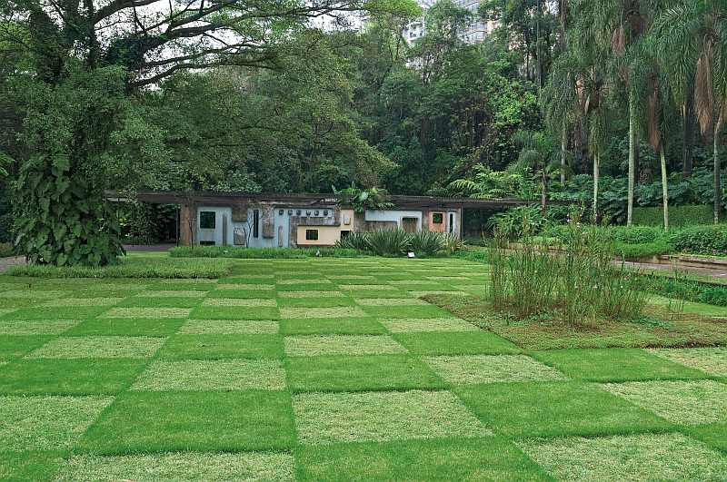 Roberto Burle Marx Gardens Of The Former Francisco Pignatari Residence Now Parque